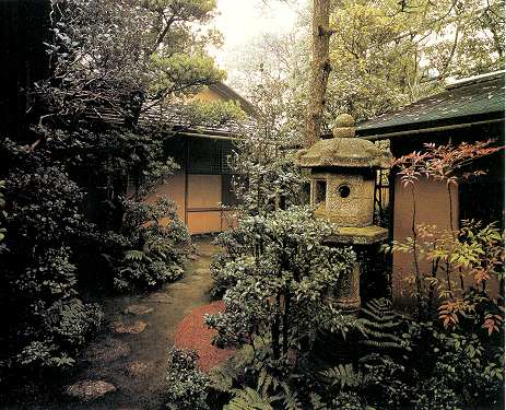 Omote Senke Fushin-an Roji A Complete View Momoyama Eva Kyoto by Haruzo Ohashi.