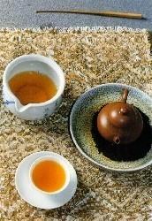 A small pot of tea
