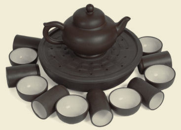 Chinese Tea Ware Copyright © Roman Chernikov, iStock Photos