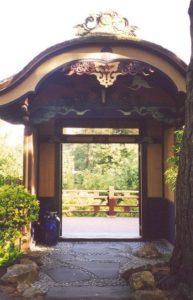 View of deck through Hagiwara Gate