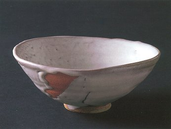 Rice-straw Ash Glaze Shallow Tea Bowl