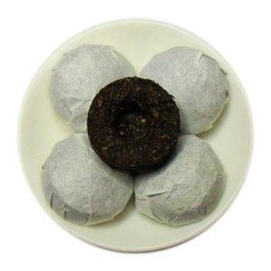 Organic Cooked Mini Pu-erh Tuocha