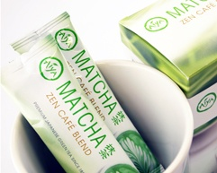 Matcha Zen Caf� Blend - Box of 12 Single Serving Packets