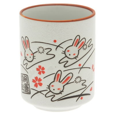 Sushi Cup Lucky Triple Rabbits