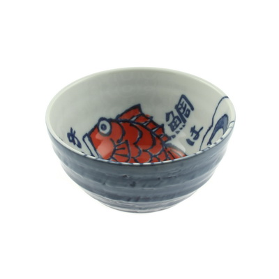 Bowl Lucky Red Fish-S