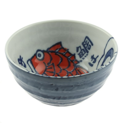 Bowl Lucky Red Fish-L