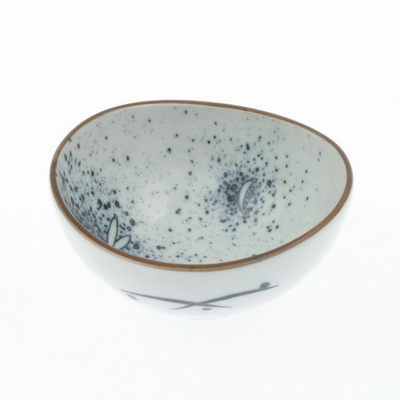 Bowl Ellipse Rabbit/Moon-S