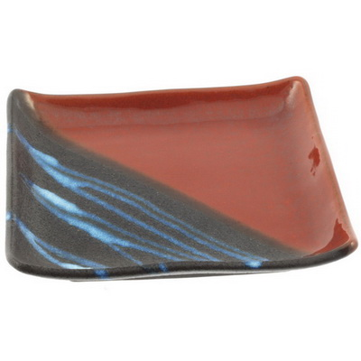 Plate Square Iron Red/Electric 7