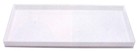 Small Rectangular White Lacquer Tray
