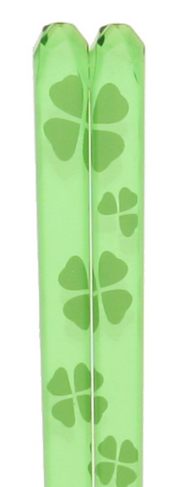 C-Stk Clear Green Clover