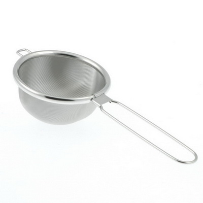 "Hi-Tech Stainless Steel Tea Strainer, 3"" diameter"