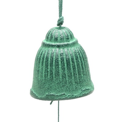 Wind Chime Green Fusa Bell
