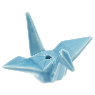 Incense Sky Blue Origami Crane