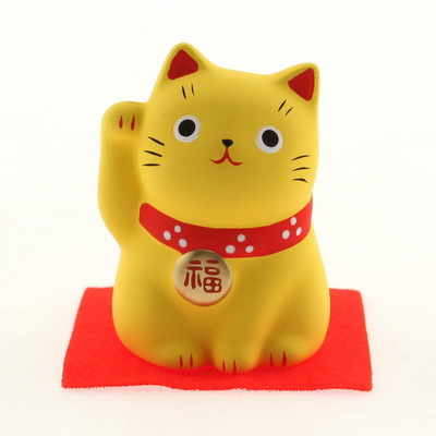 Ornament Yellow Cat-WEALTH