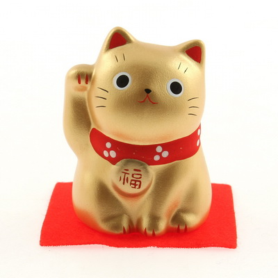 Ornament Gold Cat-PROSPERITY