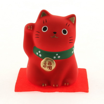 Ornament Red Cat-HEALTH