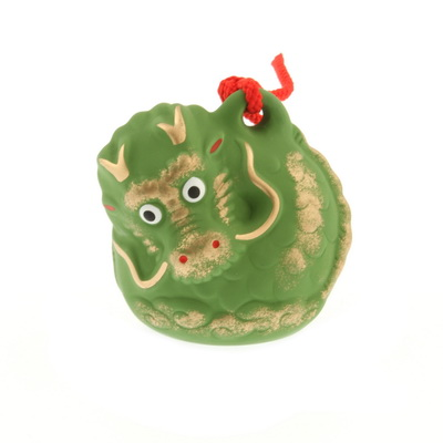 Bell/Ornament Green Dragon-M
