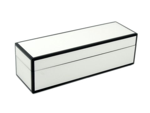 Five Sides White and Black Wine Box