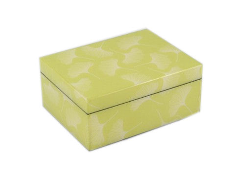 Medium Box, Ginkgo Paper Inlay