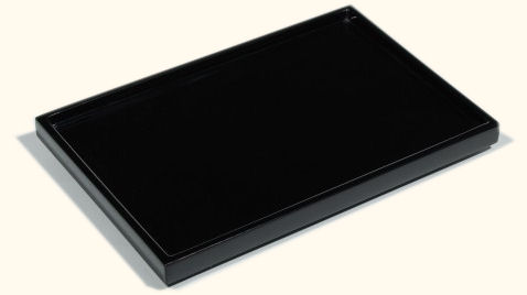 All Black Lacquer Vanity Tray