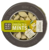 Yuzu Ginger Green Tea Leaf Mints