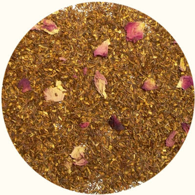 Rooibos with Oil of Bergamot, Vanilla & Rose Petals