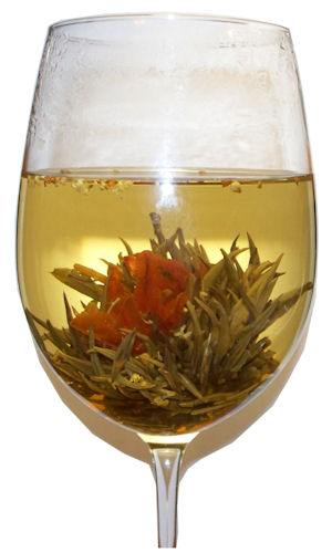Osmanthus Lily Display Tea