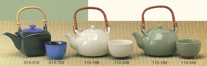 Japan Ceramic Teapots & Tea Ware