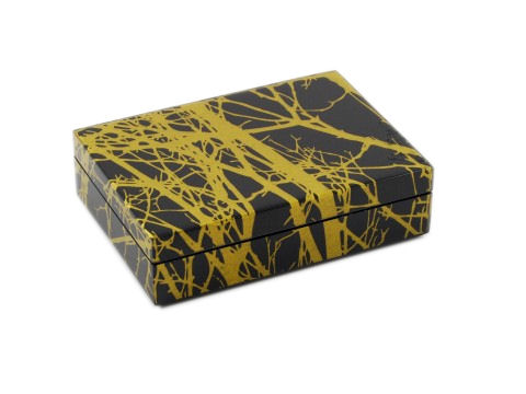 Tree with Lacquer Playing Card Box