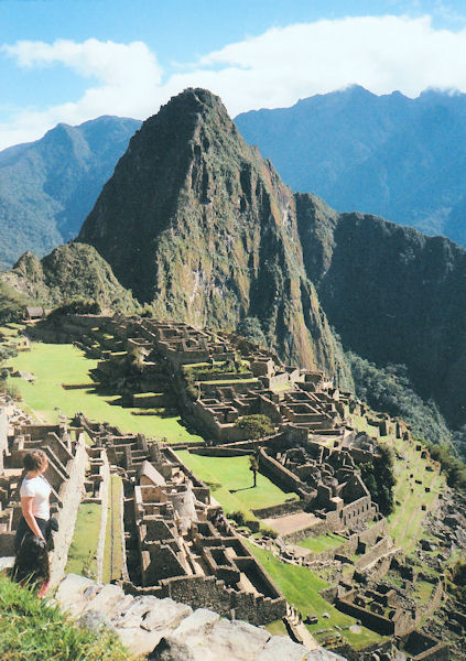 View of Machu Piccu. � 2012 Holy Mountain Trading Company