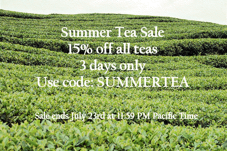 Summer Tea Sale