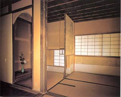 Jiko-in The Inside of  Tea Ceremony Room Edo Eva Nara by Haruzo Ohashi.