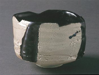 Black and White Tea Bowl