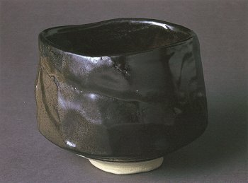 Black Seto Tea Bowl