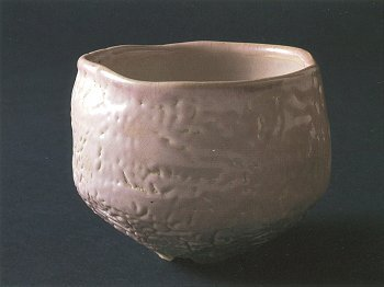 Fast-cooled Rice-straw Ash Glaze Tea Bowl