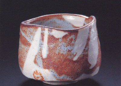 Red Shinto Tea Bowl